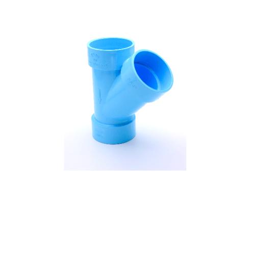 AAA สามทางวาย 45 แบบบาง  6นิ้ว (150) ชั้น 8.5  สีฟ้า