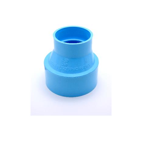 AAA ข้อต่อตรงลด แบบบาง  2 1/2นิ้ว X 1 1/2นิ้ว (65X40) ชั้น 8.5  สีฟ้า