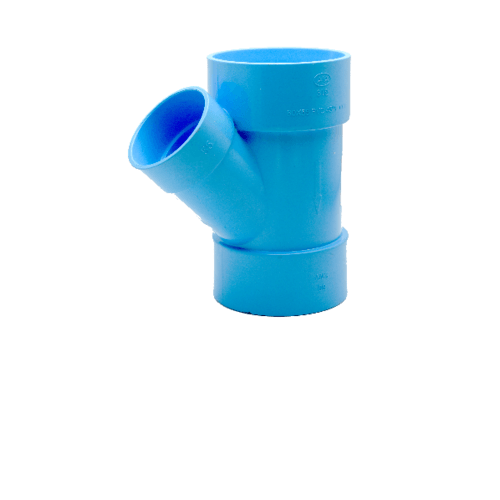 AAA สามทางวายลด  แบบบาง 3นิ้ว  X 1 1/2นิ้ว (80X40) ชั้น 8.5  สีฟ้า