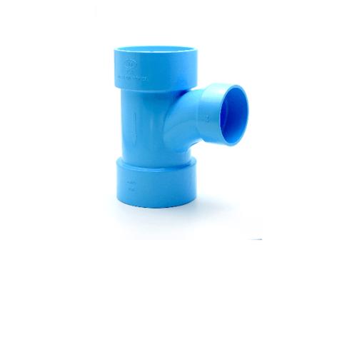 AAA สามทางทีวายลด 90 แบบบาง  4นิ้วX 2นิ้ว (100X55) ชั้น 8.5  สีฟ้า