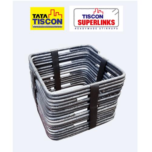 TATA เหล็กปลอก 2 หุน ดัด 25x35/ปลอก