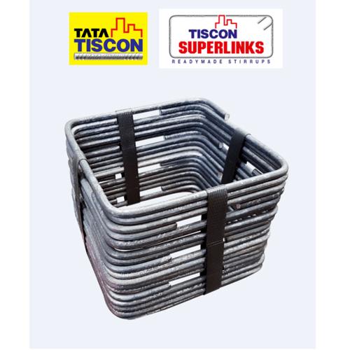 TATA เหล็กปลอก ทิสคอน ซุปเปอร์ลิงค์ ขนาด 10x15 ซม. 10 x 15