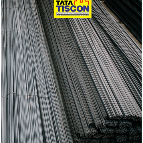 TATA TISCON เหล็กเส้นกลม-พับ  19 mm SR24 มอก. สีดำ