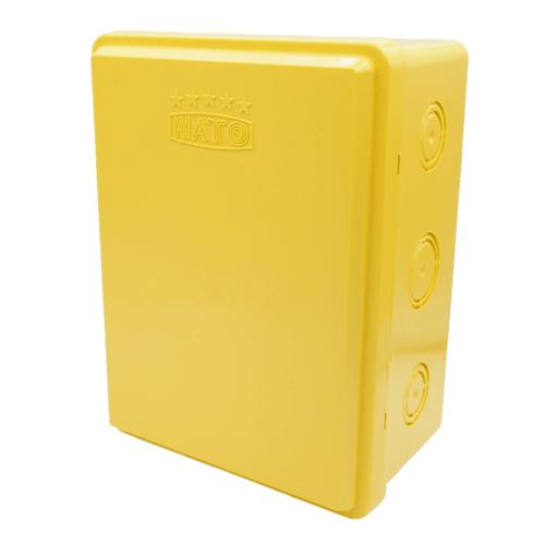NATO บล็อคกันน้ำ6x8 สีเหลือง NT-WPB68Y สีเหลือง