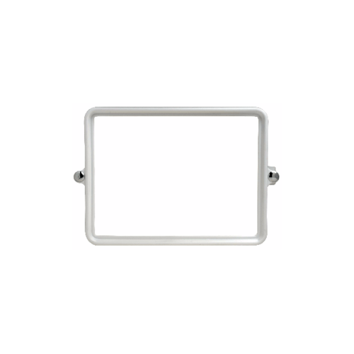 PIXO กระจกเงาแบบเหลี่ยม M02 ขาว