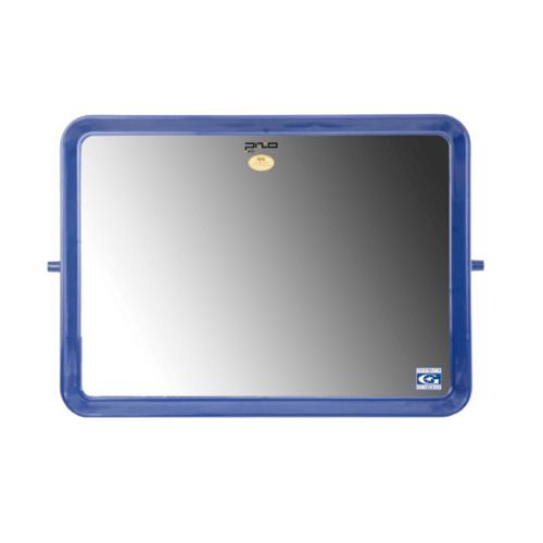 PIXO กระจกแบบสี่เหลี่ยม41x60ซม. M02 สีน้ำเงิน