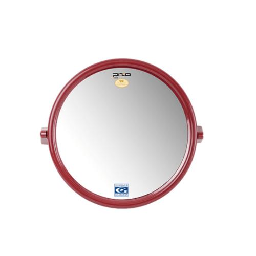 PIXO กระจกเงาแบบกลม M03 แดง