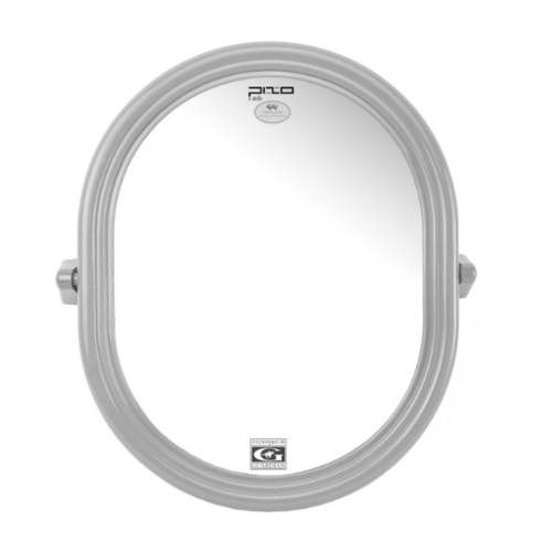 PIXO กระจกเงาแบบวงรี M.04 งา