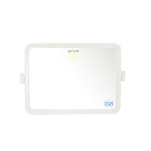 PIXO กระจกเงาแบบเหลี่ยม MS.01 เนื้อ