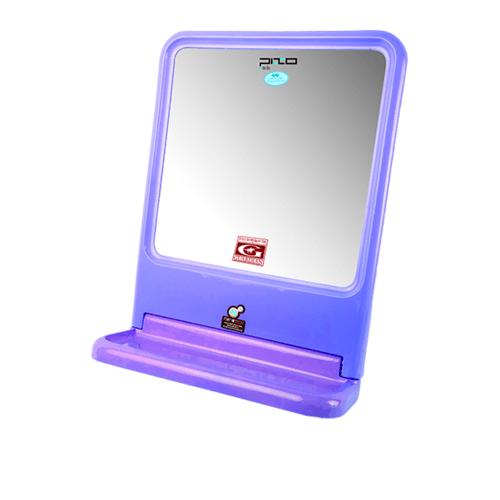PIXO กระจกเงาแบบเหลี่ยม  MS.01 น้ำเงิน