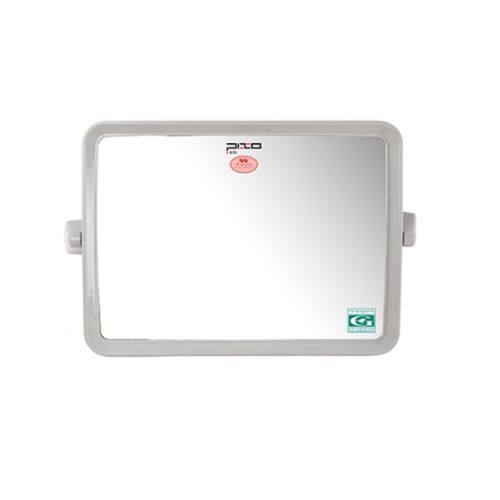 PIXO กระจกเงาแบบเหลี่ยม MS01 เทา