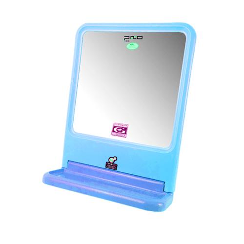 PIXO กระจกเงาแบบเหลี่ยม MS01  สีฟ้า
