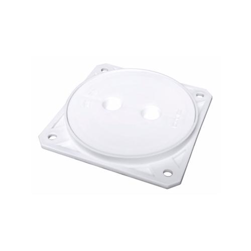 PIXO ฝาปิดบ่อส้วม ขนาด 6 นิ้ว FS 047 สีขาว