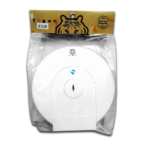 TIGER ที่ใส่กระดาษชำระ JUMBO EFS 030 ขาว สีขาว