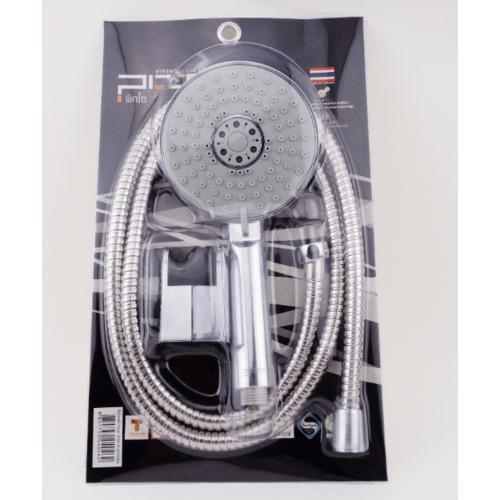 PIXO ชุดฝักบัวอาบน้ำโครเมียมแบบอิตาลี ปรับระดับน้ำ 5 ระบบ  PS 028 สีโครเมี่ยม