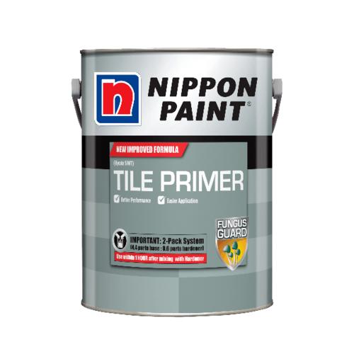 NIPPON สีรองพื้นกระะเบื้องอีพ็อกซี่  2.5 ลิตร FTPM1SXXXXXX สีขาว