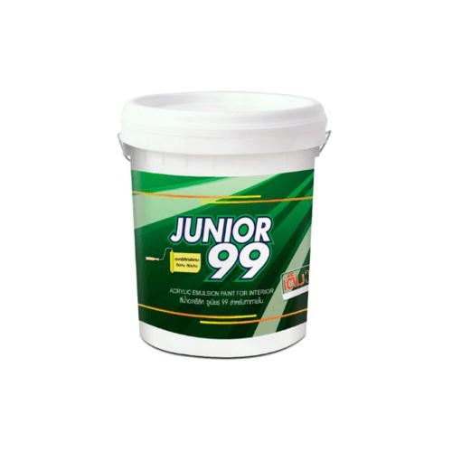 NIPPON PAINT สีน้ำภายนอก  Junior 99 Ext # 1000   17.5LT สีขาว