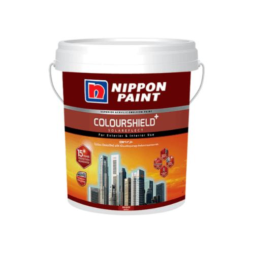 NIPPON สีน้ำภายนอก คัลเลอร์ชิลด์ กึ่งเงา BASE D