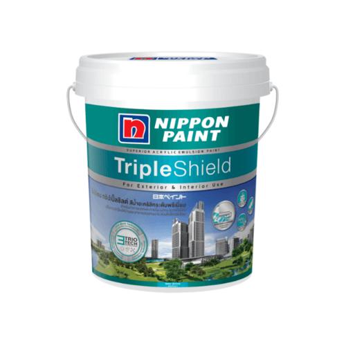 NIPPON นิปปอน ทริปเปิ้ลชิลด์ เหลือบเงา BASE B สีขาว