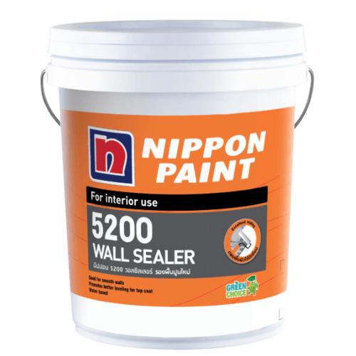 NIPPON สีรองพื้นภายใน ขนาด 5กล. 5200 WALL SEALER