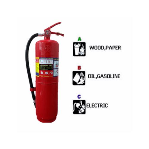 เครื่องดับเพลิงชนิดผงเคมีแห้ง ขนาด 10 ปอนด์  4A5B AFIRE
