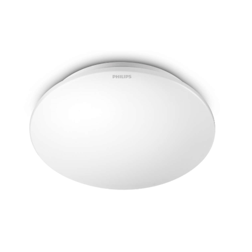 PHILIPS 33361 Moire 65K LED CEILING 6W - สีขาว