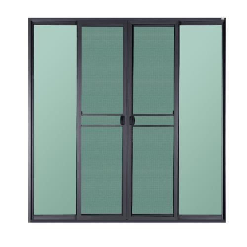 A-Plus  ประตูอลูมิเนียมบานเลื่อน FSSF ขนาด  255x320ซม.  พร้อมมีมุ้ง SAHARA