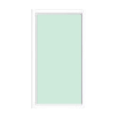 A-Plus ช่องแสงอลูมิเนียมบานติดตาย 40x120ซม. PLATINUM สีขาว