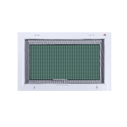 A-Plus หน้าต่างบานกระทุ้ง ขนาด 50x80 cm. A-P/004 ขาว