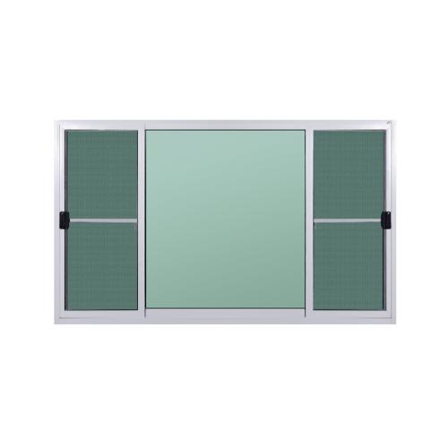 A-Plus หน้าต่างบานเลื่อนสลับ ขนาด 2.40m.x1.10m. (พร้อมมุ้ง) A-P/013