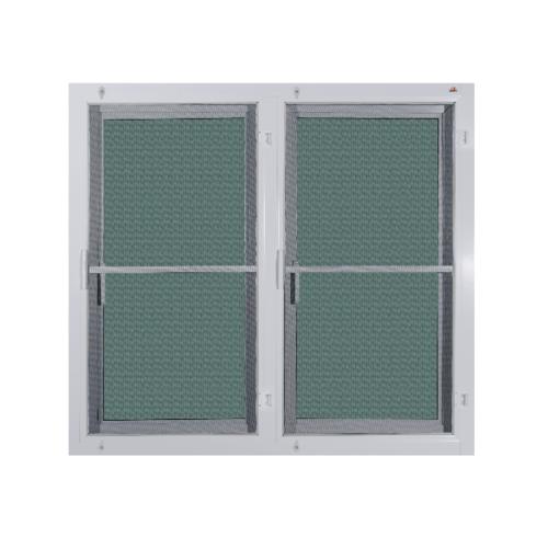 A-Plus หน้าต่างบานเปิดคู่ ขนาด120x110 cm. A-P/014 ขาว