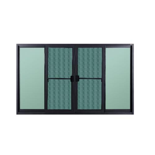 A-Plus หน้าต่างบานเลื่อนเปิดกลางซาฮ่าร่า ขนาด 1.80x1.10 SR-006