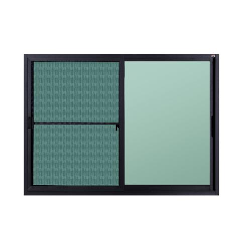 A-Plus หน้าต่างบานเลื่อน  1.40 m.x 1.00 m.  SAHARA สีเทา