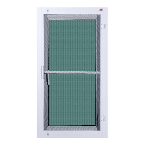 A-Plus หน้าต่างอะลูมิเนียมบานเปิดเดี่ยว ขนาด 60x150ซม. PLATINUM สีขาว