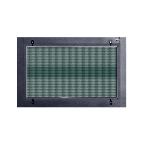 A-Plus หน้าต่างอะลูมิเนียมเกล็ดซ้อน (SR) 50x40ซม. SAHARA