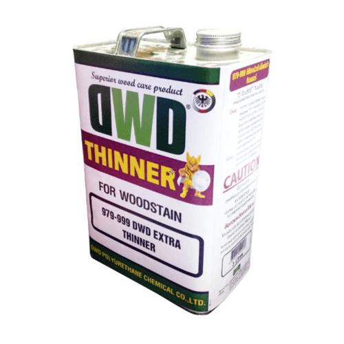 DWD ทินเนอร์สีย้อมไม้ (3ลิตร) 979-999