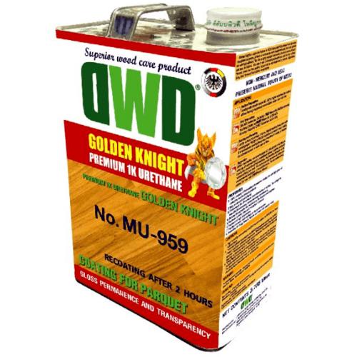 DWD สีเคลือบพื้นไม้ (0.946ลิตร) MU-959