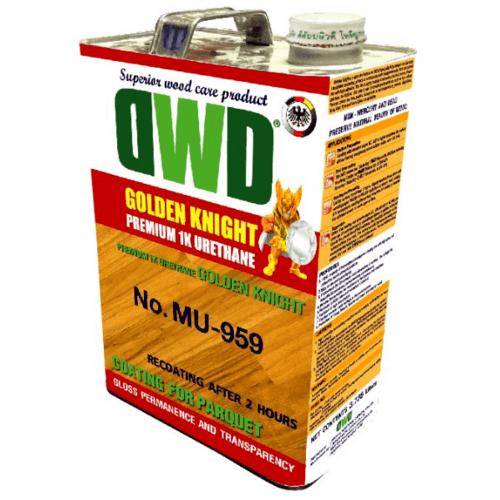 DWD สีเคลือบพื้นไม้ (3.785ลิตร) NO.MU-959