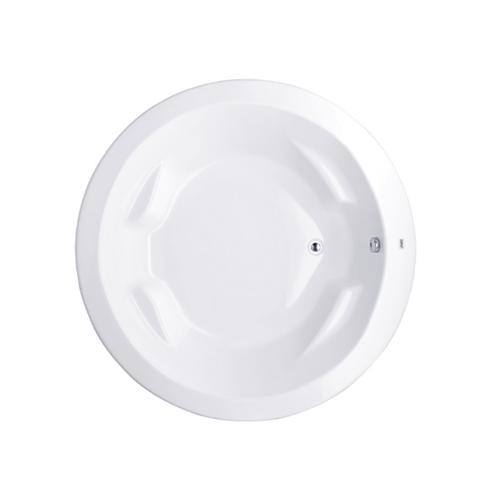 Cotto อ่างอาบน้ำ แอททินา BT201PP(H)  แบบกลม สีขาว