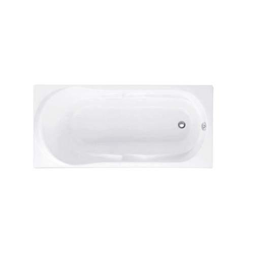 Cotto อ่างอาบน้ำมาโคนีแบบมีมือจับ-สะดือป๊อปอัพ รุ่น BH221PP(H) WH BH221PP (H) WH สีขาว