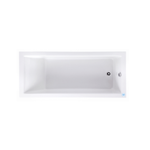 Cotto อ่างอาบน้ำพร้อมสะดือป๊อปอัพ ไจแอนท์ 1700 รุ่น BT2037PP(H) BT2037PP WH สีขาว
