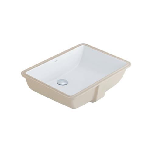 Cotto อ่างล้างหน้าชนิดฝังใต้เคาน์เตอร์   ฟรีเซีย ทู C05117 สีขาว