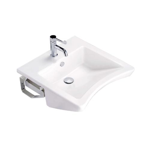 Cotto อ่างล้างหน้าชนิดแขวนผนัง   ฟอร์ออล (ไฮยีน) SC00537 สีขาว