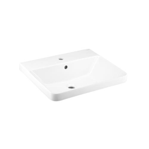 Cotto อ่างล้างหน้าฝังบนเคาน์เตอร์ ซิมพลิโมดิช C001057 สีขาว