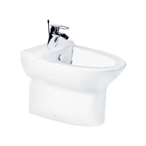 Cotto โถชำระล้างสำหรับผู้หญิงแบบตั้งพื้น รุ่น โคลเอ Hyg.B30027 COTTO B30027 สีขาว