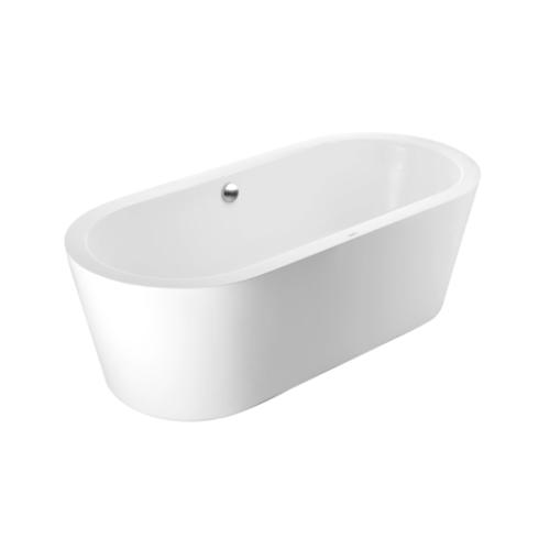 Cotto อ่างอาบน้ำพร้อมสะดือ รุ่นโคลเอ BT207EP(H)  COTTO BT207EP (H) สีขาว