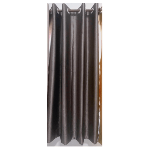 Davinci ผ้าม่านหน้าต่าง ขนาด (150 x 160 ซม.) D1701-1 สีน้ำตาล