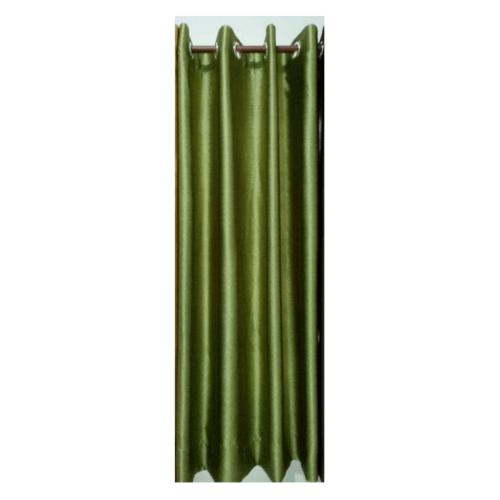 Davinci ผ้าม่านประตู ขนาด (150 x 250 ซม.) D1701-8 สีเขียว