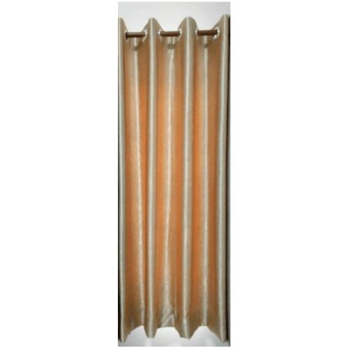 Davinci ผ้าม่านประตู ขนาด (150 x 250 ซม.) D1701-2 สีครีมทอง