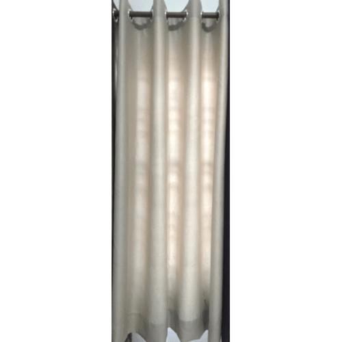 Davinci ผ้าม่านหน้าต่าง ขนาด (150 x 160 ซม.) R3903-1 สีเทา